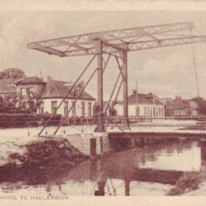 ijzeren brug te Haulerwijk