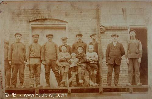 """Zuivelfabriek """"Hoop op Zegen"""" Haulerwijk-beneden."""