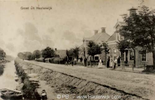De winkel van Errit de Vries thans Norgerweg 100-101