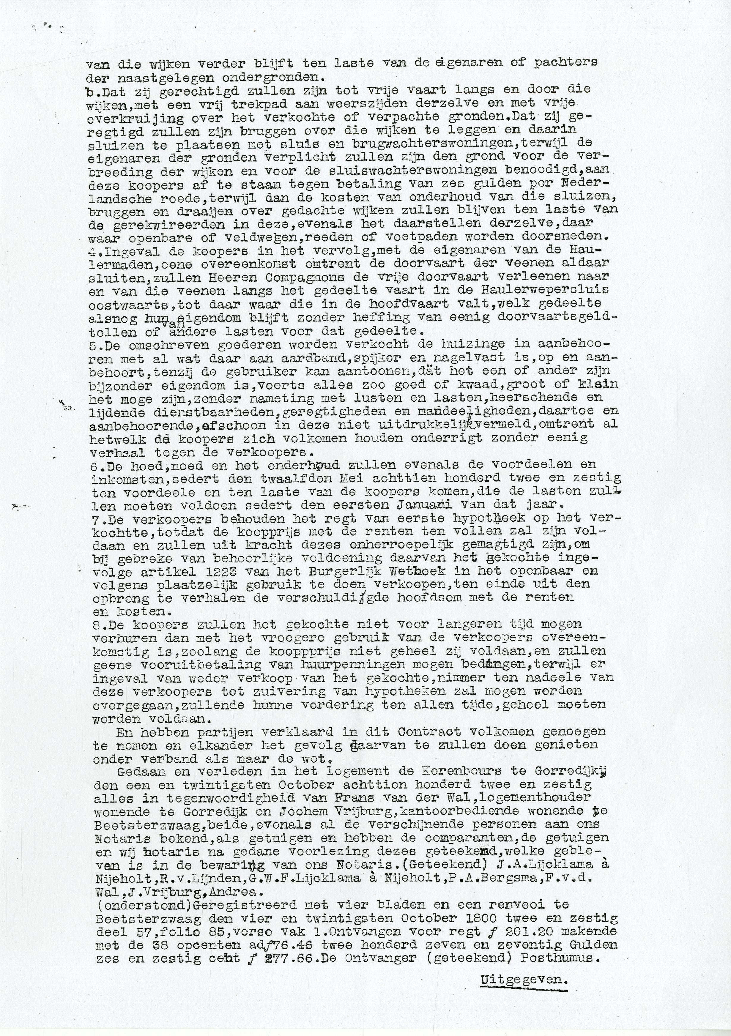 02-06-1920 overdracht Haulerwijkstervaart