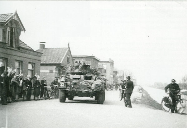 Canadezen in Oosterwolde