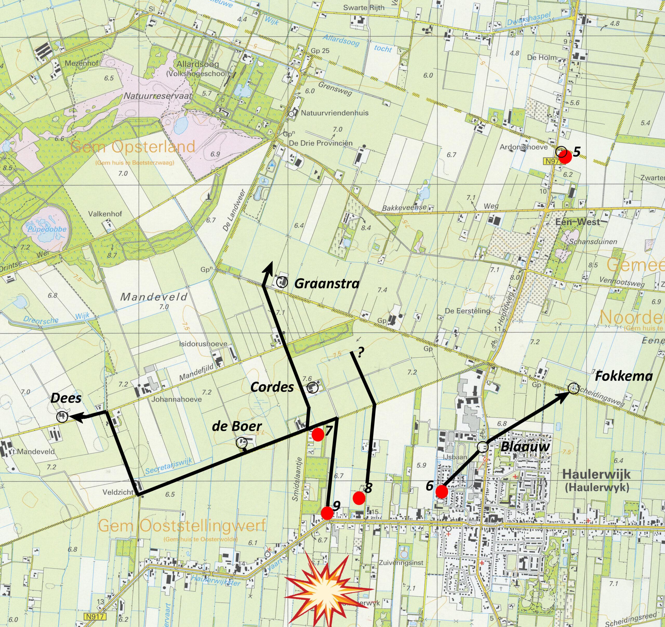 Ontvlucht uit Haulerwijk